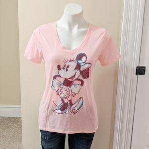 Disney pink Minnie Mouse t-shirt.